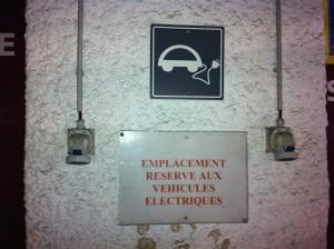 On trouve ce type de prise Maréchal dans certains parkings souterrains de la CUB.